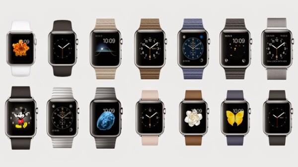 El reloj de 38 milímetros costará 549 dólares, y 500 dólares el de 42 milímetros.