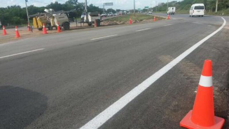 carretera cancun rehabilitada 1