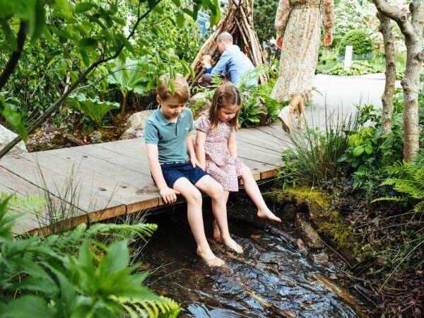 Duchess of Cambridge RHS Chelsea Flower Show garden, London, UK - 19 May 2019
