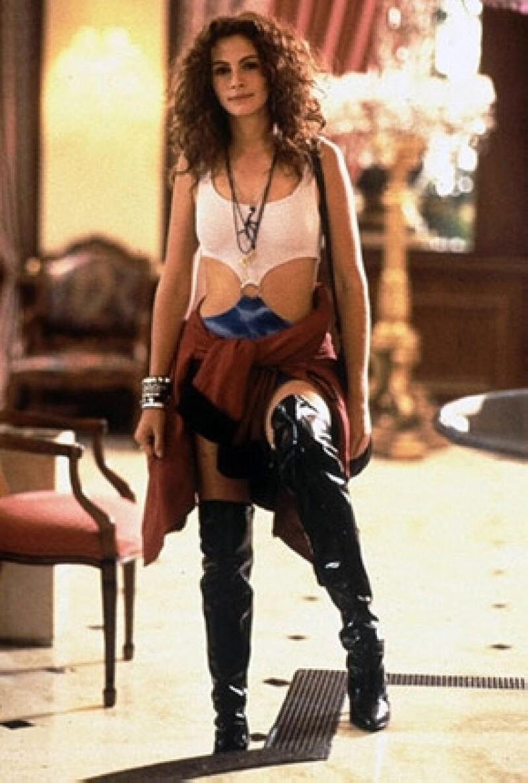 La actriz, de 22 años, protagoniza en la portada de una revista británica con una imagen madura y sexy que remite a la de Julia Roberts en la película de Pretty Woman.