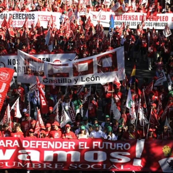 España crisis marcha 4