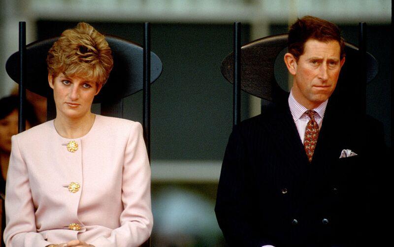 Lady DI y el príncipe Carlo