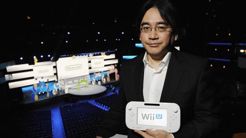 Nintendo Wiiu Satoru Iwata presidente de Nintendo