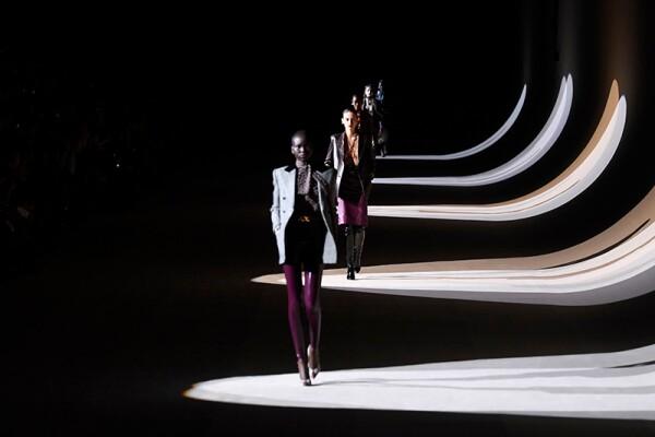 Saint Laurent show, Runway, Fall Winter 2020, Paris Fashion Week, France - 25 Feb 2020