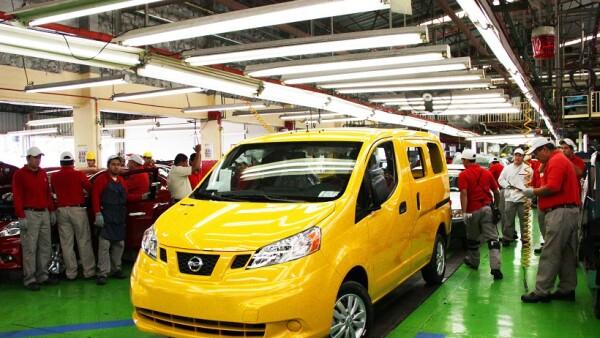 Nissan fabrica en esta planta modelos como el Versa y el Tsuru.
