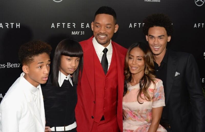 La última vez que se vio a la familia Smith reunida en un evento público fue en mayo de este año en Nueva York.