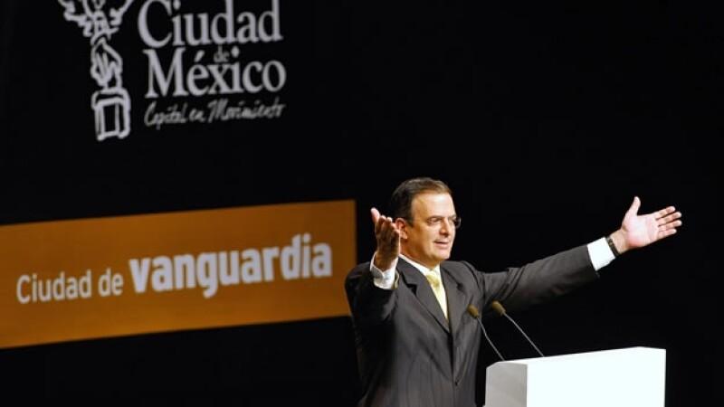 Marcelo Ebrard presenta su quinto informe de gobierno