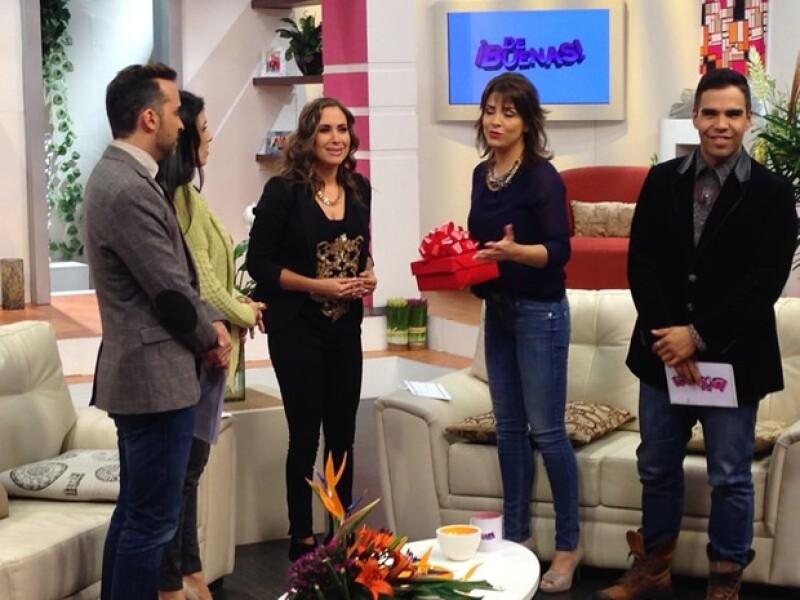 """A partir de este lunes la periodista formará parte del programa de revista """"De Buenas""""."""