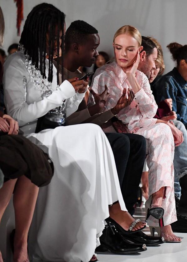 Calvin Klein 205W39NYC show, Spring Summer 2018, New York Fashion Week, USA - 07 Sep 2017