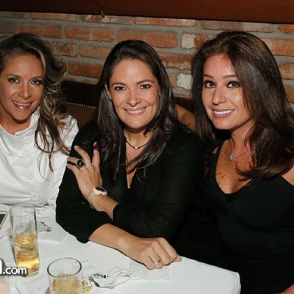 María Ocampo, Verónica Fernández y María Rosani