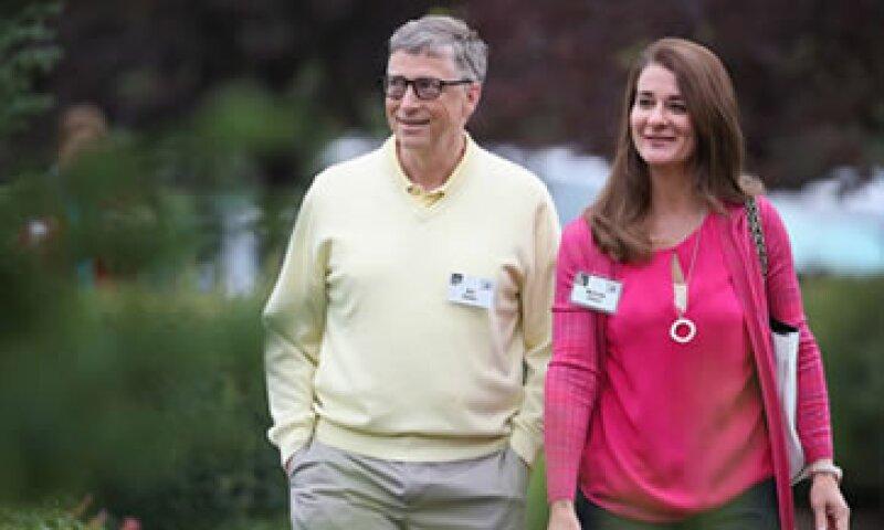 La pareja es reconocida por sus actividades filantrópicas. (Foto: CNNMoney)
