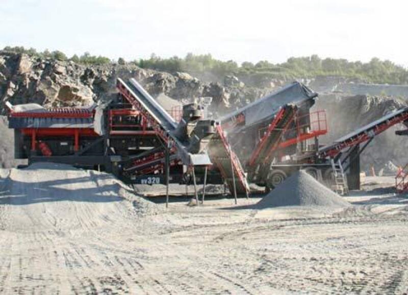 Trituradoras de piedra