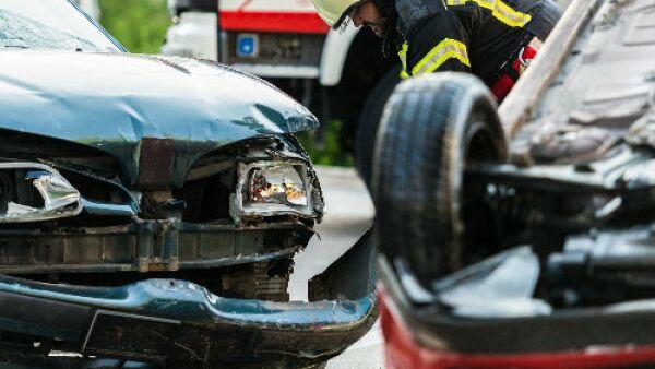 colisi�n de autos