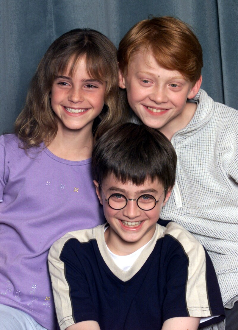 Protagonistas Harry Potter