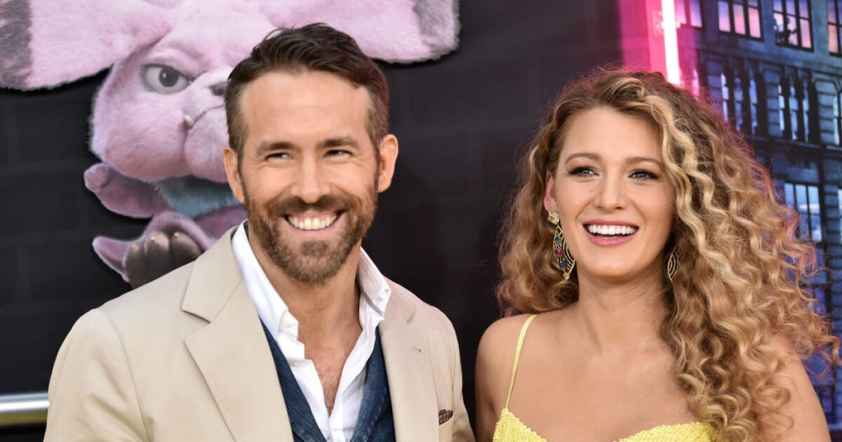 With a husband like Ryan Reynolds, Blake Lively doesn't need a salon
