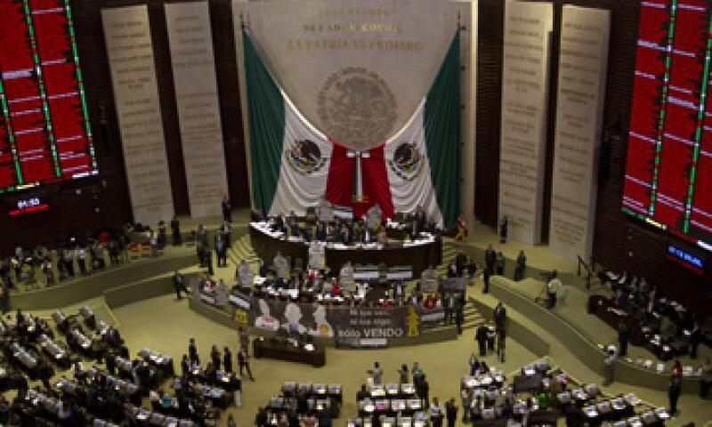 La Cámara baja decretó un receso a la sesión y se citó de nuevo a las 14:00 horas. (Foto: Cuartoscuro)