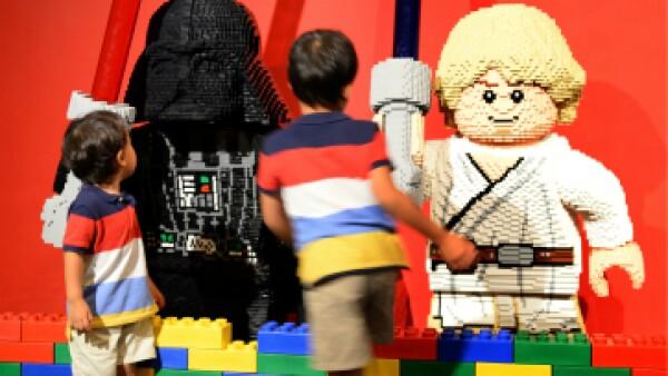 Los juguetes de Lego en su versión de 'Star Wars' fueron uno de los más vendidos por la compañía danesa en 2015.  (Foto: AFP)