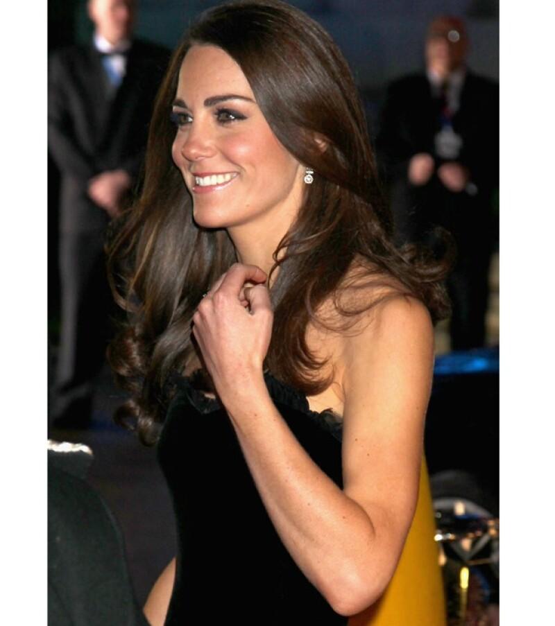 Desde antes de casarse con el príncipe Guillermo, Kate ya lucía un tonificado cuerpo.