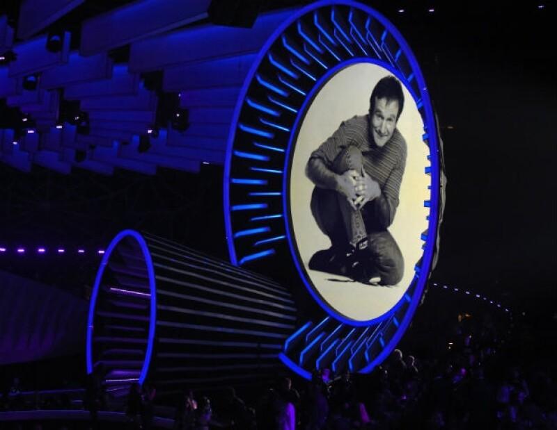 Los asistentes a los Emmys guardaron un minuto de silencio por Robin.