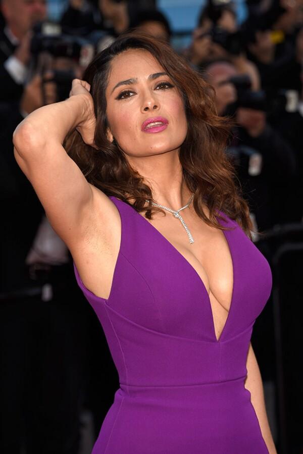 sus 49 años, la mexicana es una de las celebs más atractivas y sexys de Hollywood.
