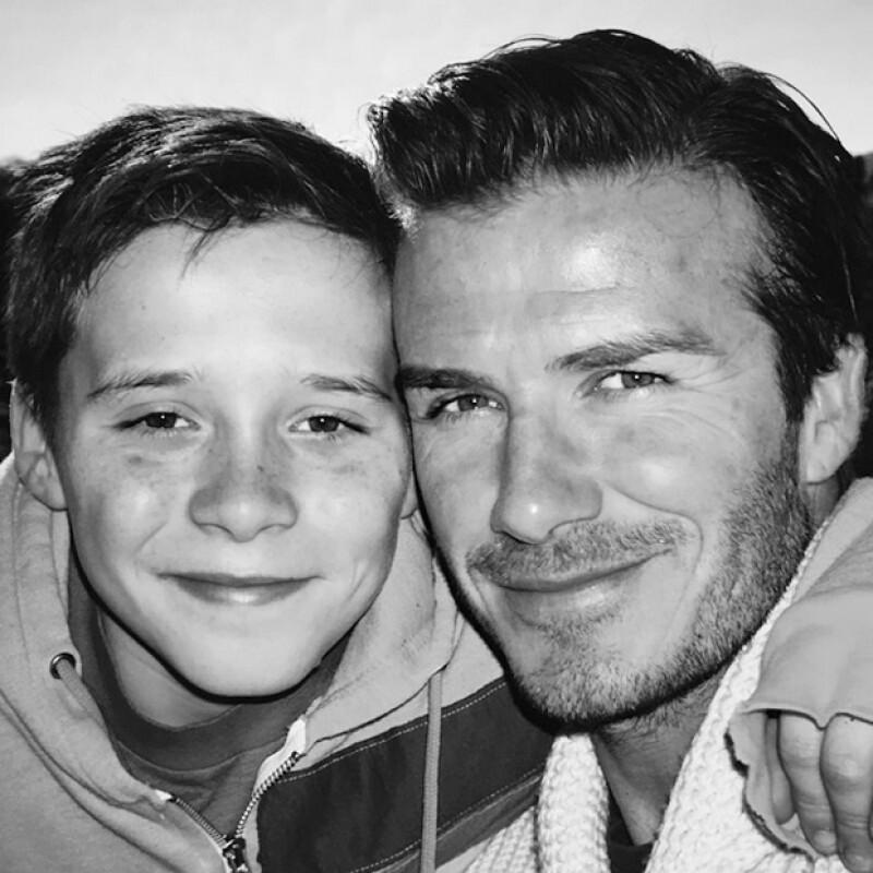 Con este throwback, David Beckham expresó lo importante que es su hijo mayor en su vida.
