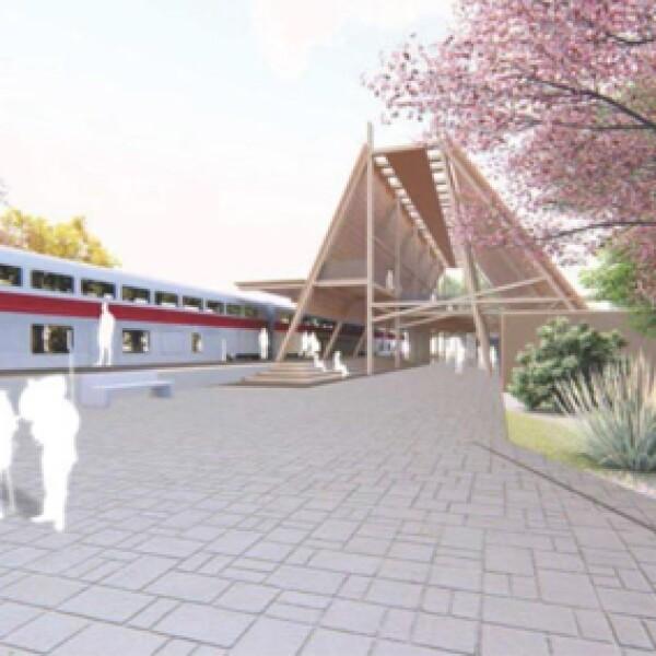 Los primeros diseños de las estaciones del Tren Maya