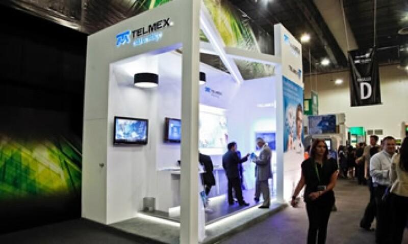 América Móvil tiene alrededor de 70% del mercado de telefonía móvil y el 80% del negocio de telefonía fija. (Foto Tomada de telmex.com)