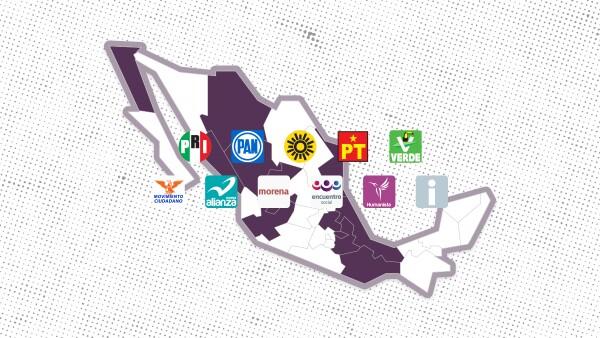 Los votantes de 13 estados están convocados a las urnas para renovar gubernaturas, alcaldías y diputaciones.