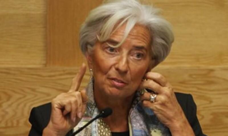 """""""Esperamos que sea resuelta (la crisis) por todos los países, todas las regiones, todas las categorías de países actuando"""", dijo Lagarde. (Foto: AP)"""