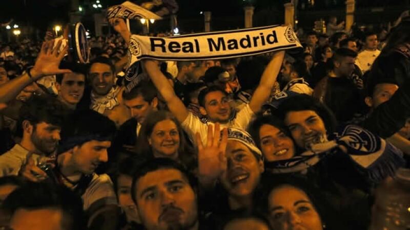 festejos madrid champions