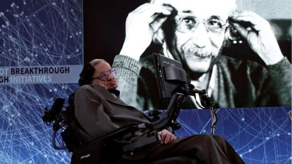 Stephen Hawking y Albert Einstein, dos genios unidos para siempre