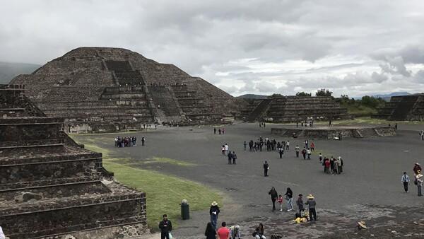 Teotihuacán.