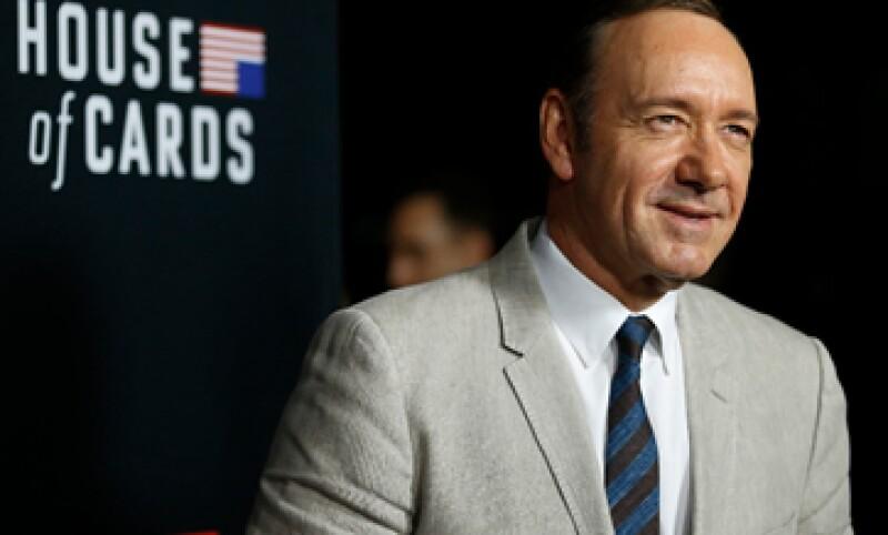 El actor Kevin Spacey encarna al turbio político Francis Underwood. (Foto: Reuters)