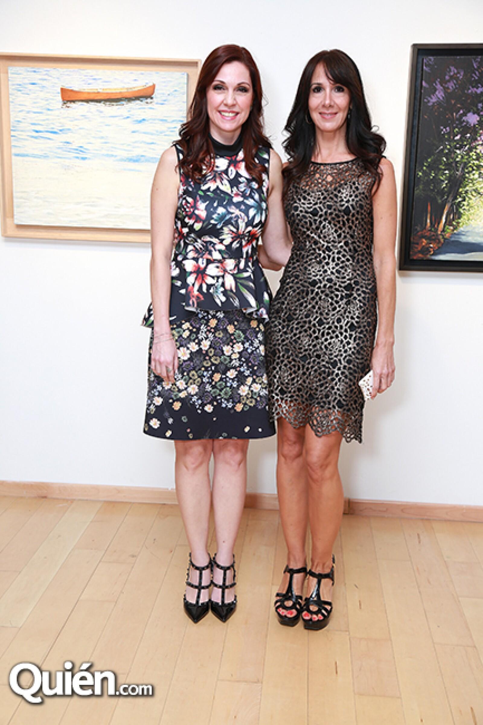 Laura Garza de Garza e Isabel Roesch de Rubies