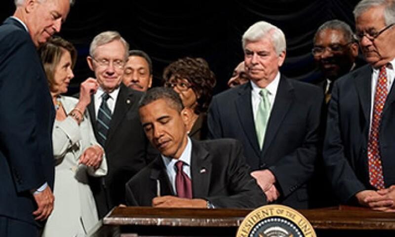 En 2010 el Congreso legisló los cambios más significativos en la regulación financiera desde los años 30. (Foto: Cortesía CNNMoney)