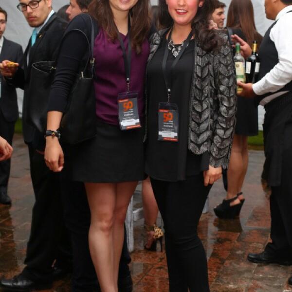 Paulina Bustos y Sofía Rodríguez.