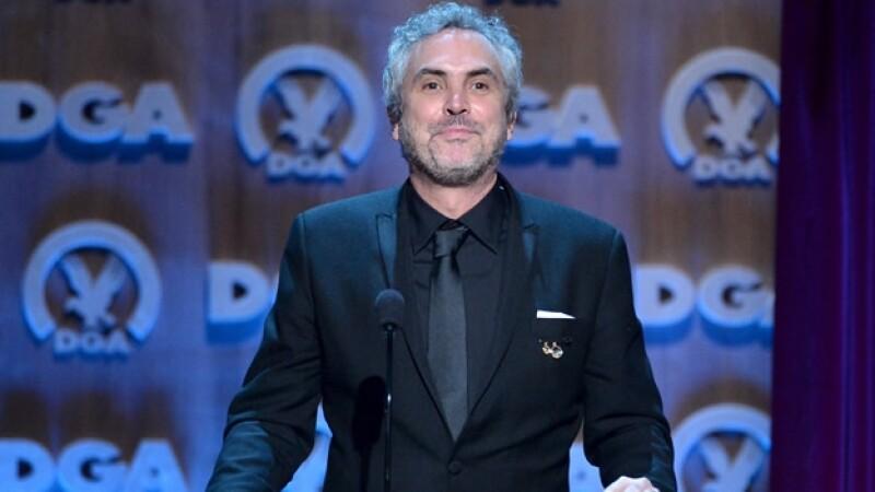Alfonso Cuarón sumó un premio más por su dirección en la película Gravedad