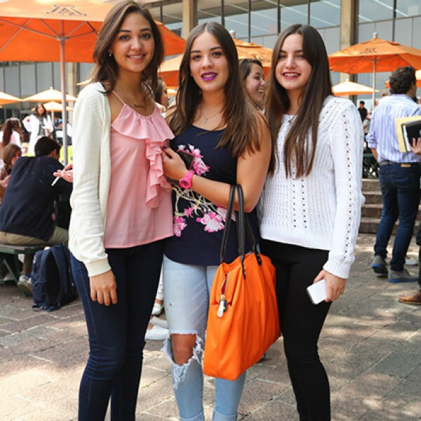Ana Silvia Ibarra, Andrea Torres y Ángela Azueta