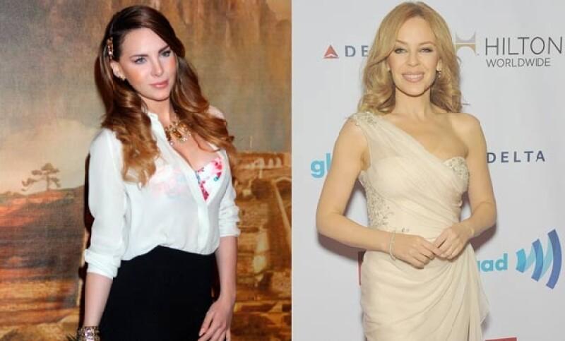 En entrevista con el diario Reforma, la cantante indicó que viajará al Festival de Cine como imagen de una marca y tendrá la oportunidad de convivir con la australiana.