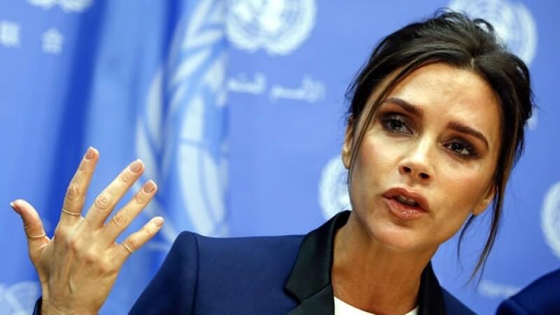 Victoria Beckham en la ONU