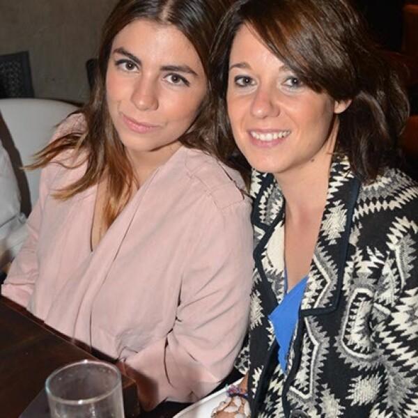 Sofía Campos y Alba Montes.