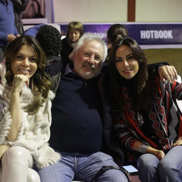 Alejandra Sánchez,Victor Hugo y Ana Paula O´Farrill