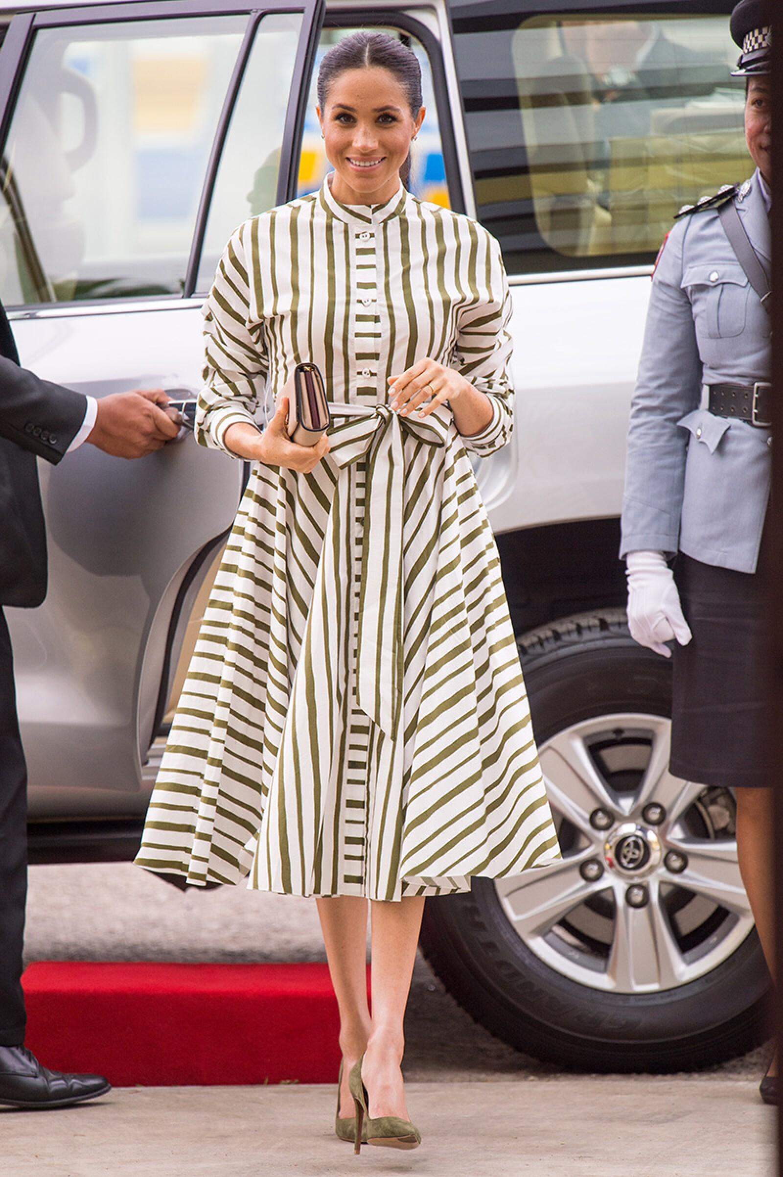 The Duke And Duchess Of Sussex Visit Tonga
