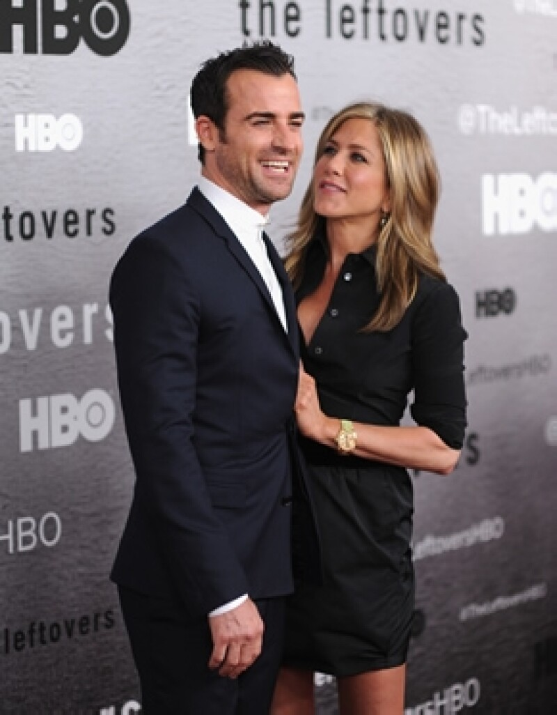 Justin y Jennifer en la premiere de The Leftovers en Nueva York en junio pasado.