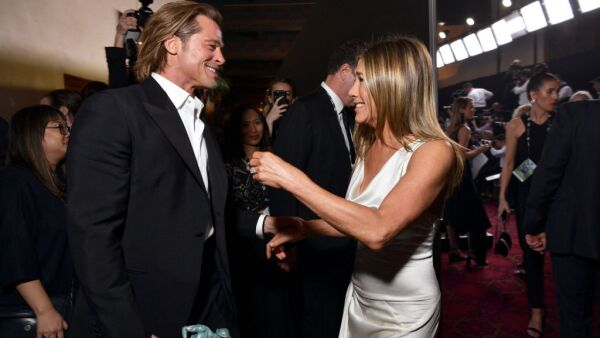 Brad Pitt y Jennifer Aniston