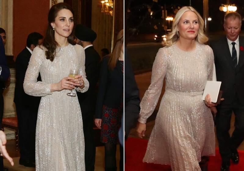 Kate Middleton y Mette-Marit de Noruega