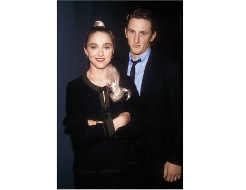 Sean Penn fue el primer esposo de la Reina del Pop.
