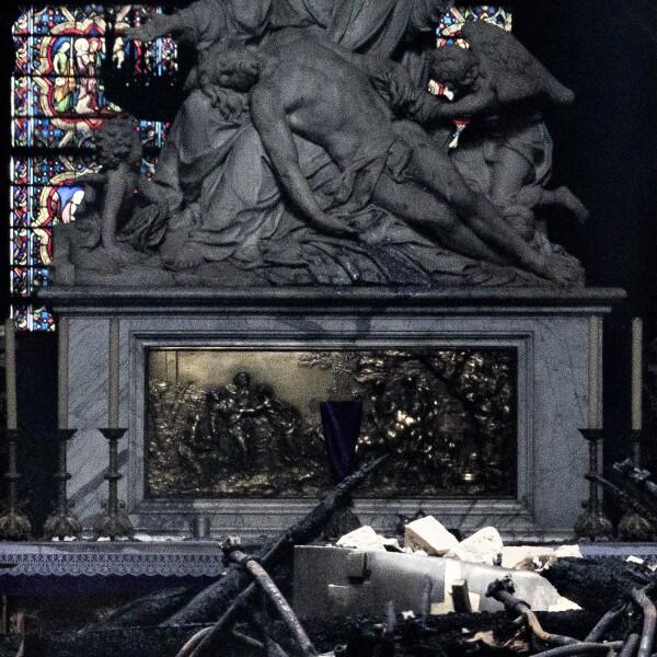 Paris Assesses Damage Following Notre Dame Blaze
