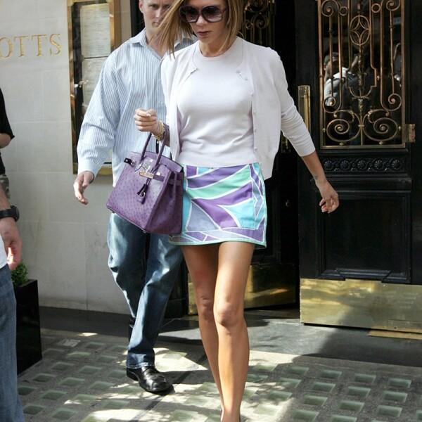 Victoria Beckham at Scotts Restaurant, London, Britain - 13 May 2008