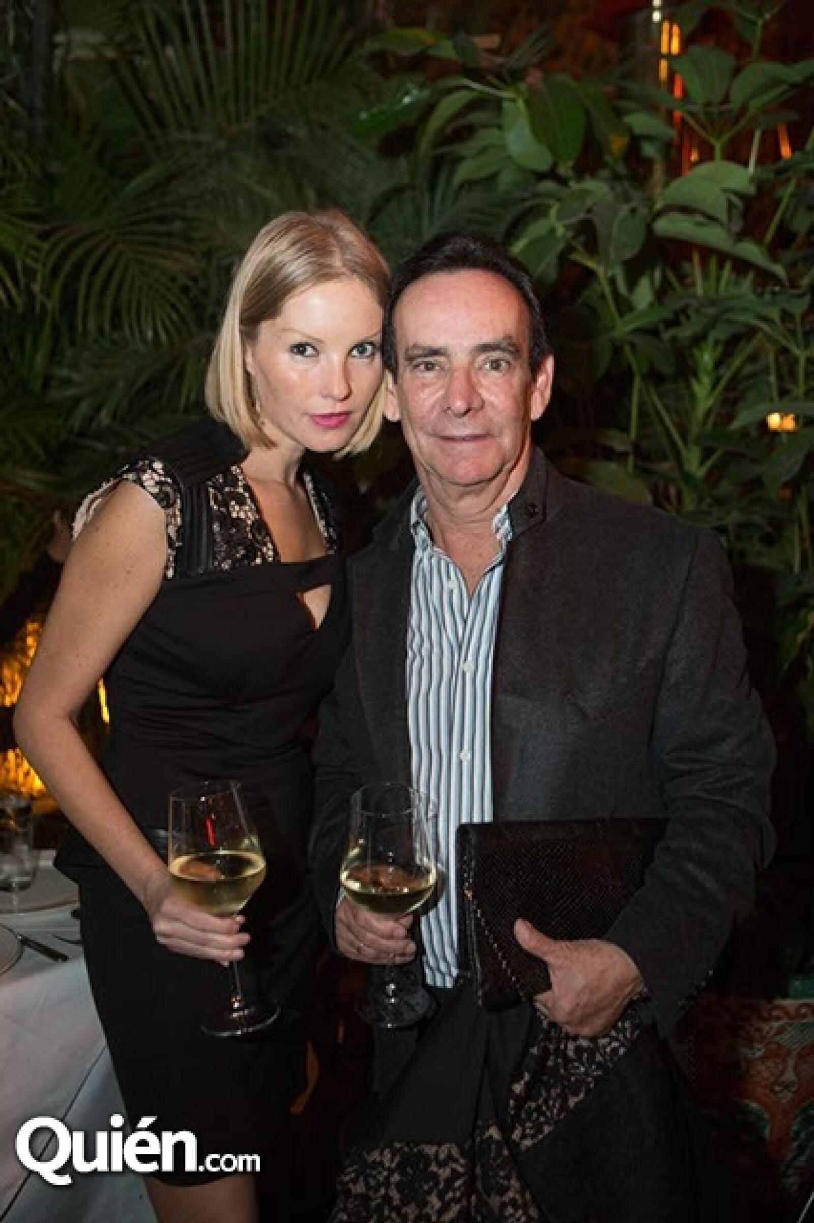 Melissa Camil y Carlos Salomón